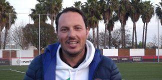 Emilio Blanco, entrenador de la UD Montijo