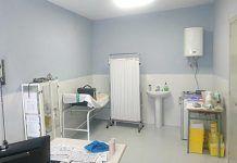 Despacho del consultorio médico de Lácara