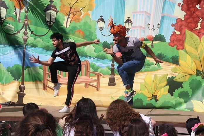 Carnaval infantil en Puebla de la Calzada (foto Teodoro Gracia)