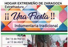 Cartel-Exposicion-de-Indumentaria-Tradicional-que-organiza-el-Hogar-Extremeno-de-Zaragoza