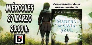 Cartel-presentacion-Madera-de-savia-azul-de-Jose-Luis-Gil-Soto