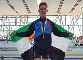Raúl Gragera Traver, Campeón de España de 600 metros lisos en pista cubierta en la categoría cadete
