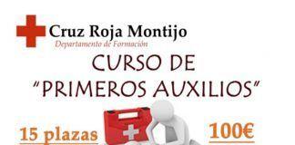 curso primeros auxilios cruz roja montijo