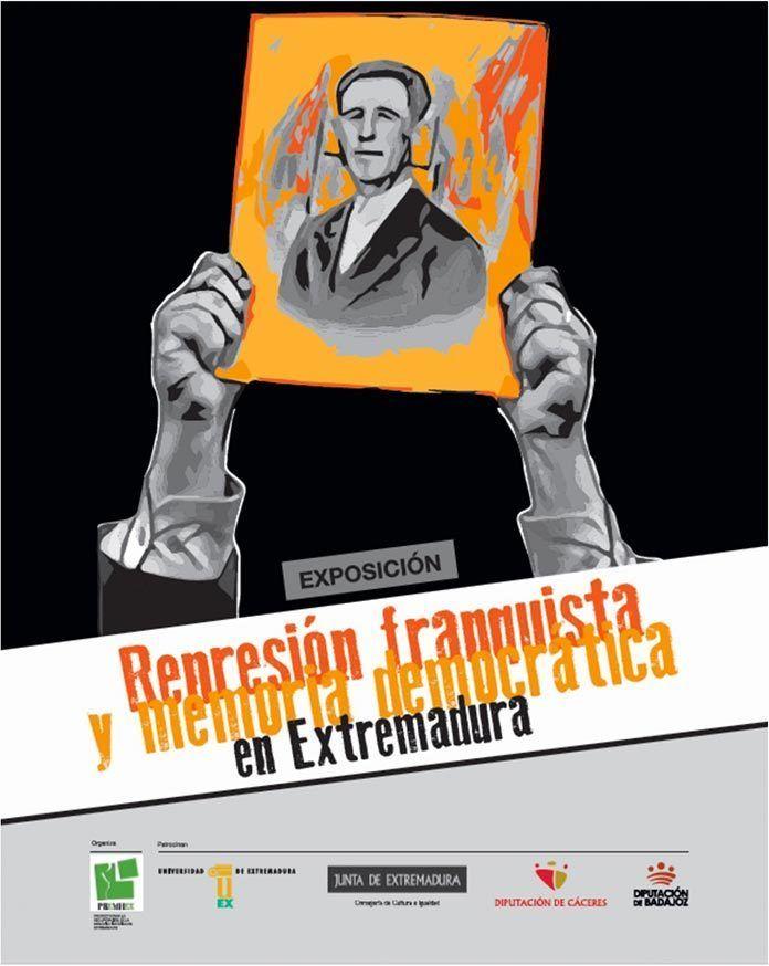 CARTEL-REPRESION-FRANQUISTA-Y-MEMORIA-DEMOCRATICA-EN-EXTREMADURA