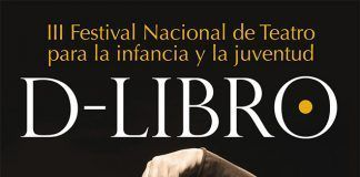 Cartel Festival Nacional de Teatro para la Infancia y la Juventud D-Libro.
