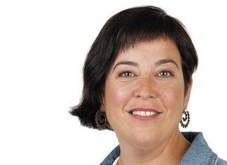 Sonia García Cardenal, candidata de IU-Podemos a la Alcaldía de Puebla de la Calzada