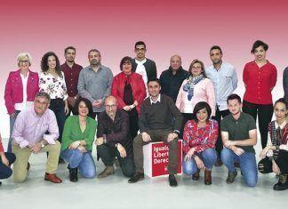 Candidatura del PSOE a la Alcaldía de Puebla de la Calzada