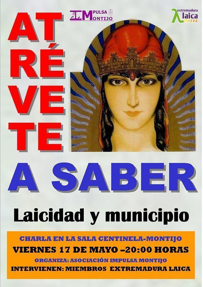 cartel ATReVETE A SABER