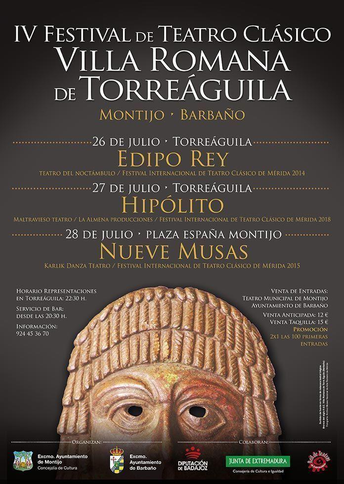 cartel-IV-Festival-de-Teatro-Clasico-Villa-Romana-de-Torreaguila-2019