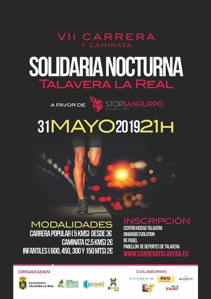 cartel-vii-carrera-solidaria-nocturna-talavera-la-real