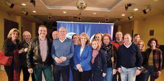 Presentación de la candidatura del PP para Puebla de la Calzada