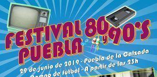 Cartel-festival-80-90-Puebla-de-la-calzada