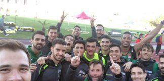 Equipo del Playas de Castellón proclamado campeón de Espana en Soria.