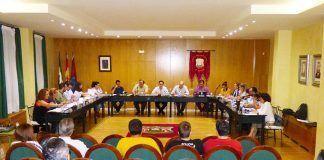 Sesión extraordinaria del pleno del Ayuntamiento de Montijo.