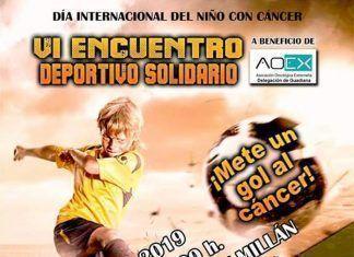 cartel-I-ENCUENTRO-DEPORTIVO-SOLIDARIO-AEOX-Guadiana-del-Caudillo