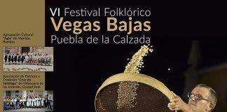 Cartel VI Festival Folklórico Nacional Vegas Bajas