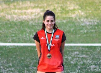 Emma Almendro se proclamó Campeona de Extremadura en 3.000 obstáculos