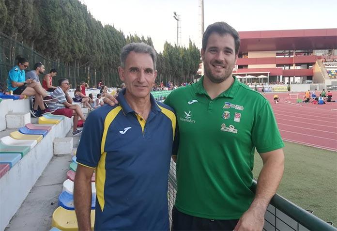 Javier Cienfuegos y Antonio Fuentes en el VI Gran Premio de Atletismo Diputación de Castellón.