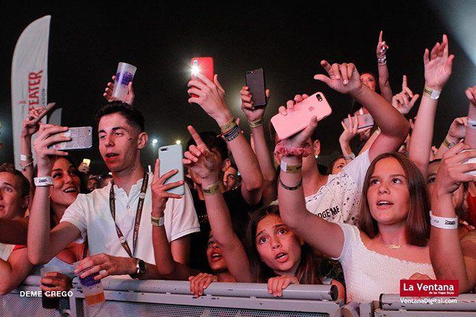 Público en el Dream Summer Festival de Puebla de la Calzada