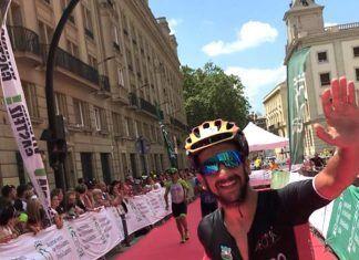 Valentin Cuerpo en la Iron Man Vitoria-Gasteiz