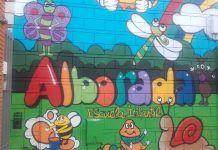 mural-fachada-escuela-infantil-Alborada-de-Montijo
