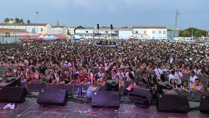 Público del Dream Summer Festival 2019 en Puebla de la Calzada