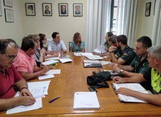 Guardia Civil y Policia Local velaran por la seguridad en la feria de Montijo
