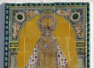 Azulejo-de-la-Virgen-de-Guadalupe-Camara-Agraria-de-Montijo-Memoria-Historica