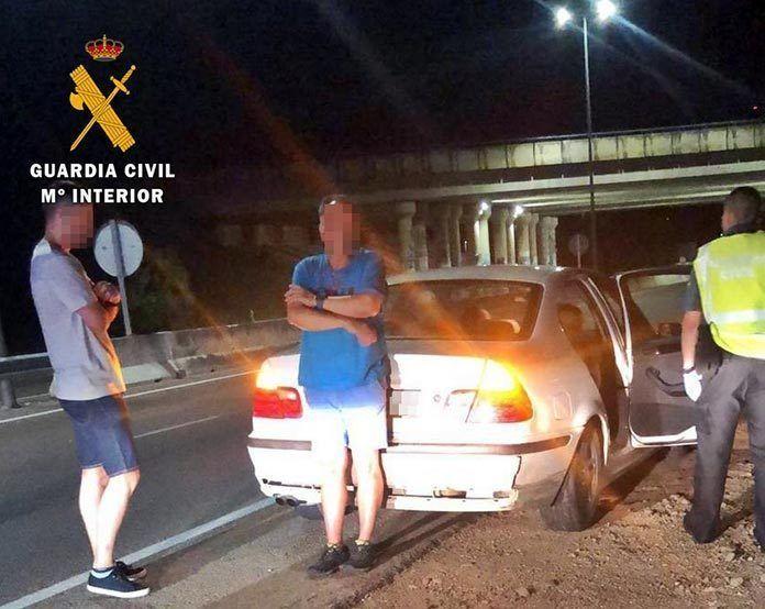 Cuatro detenidos por robo con violencia mediante el método del tirón en Talavera la Real