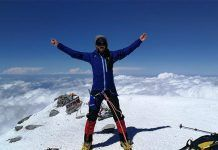 Javier García Pajares, escalador sordociego extremeño, alcanza la cima del monte Elbrus