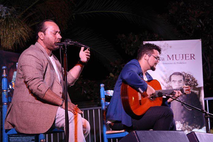 Juan José Suárez en el Festival Flamenco de Puebla de la Calzada