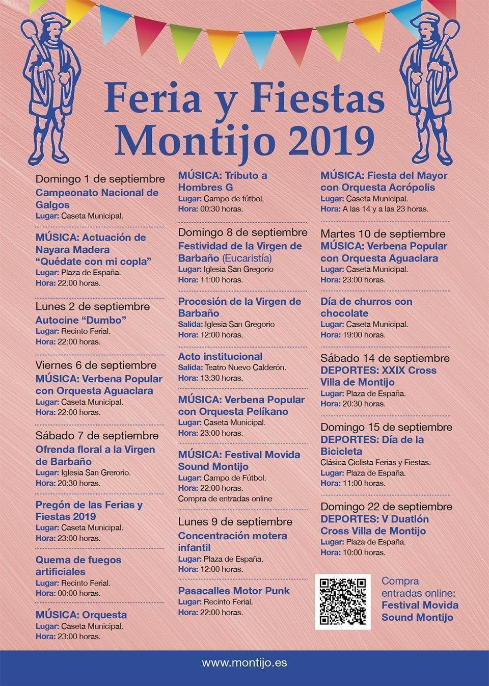 Programa Feria de Montijo 2019