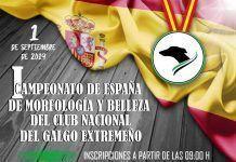 Campeonato Nacional de Galgos en Montijo.