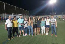 Convivencia solidaria de fútbol en Puebla de la Calzada.