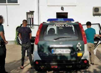 detenidos robos Arroyo de San Servan