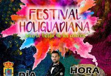 Festival HoliGuadiana que se celebrará el 31 de agosto en Guadiana.