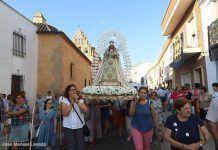virgen de Barbaño procesion