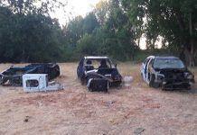 vehiculos-quemados-junto-al-punte-de-Los-Suspiros-en-Lobon