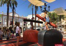 Actividades de Cruz Roja Juventud en la Feria de Montijo 2019