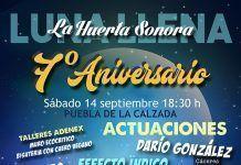 La Huerta Sonora septimo aniversario luna llena