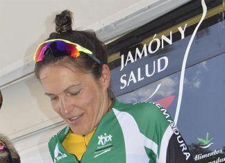 Extremadura-Ecopilas Tamara Sanchez ciclista montijana