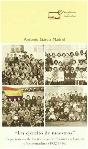 """""""Un ejército de maestros"""", Antonio Garcia Madrid."""