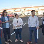 aparcamientos del Centro de Salud Montijo