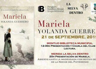 """Presentación de """"Mariela"""" en la Biblioteca de Montijo."""