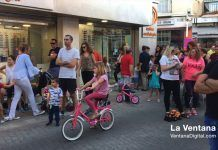 actuacion J. Vega en la Shopping Nigth de Montijo