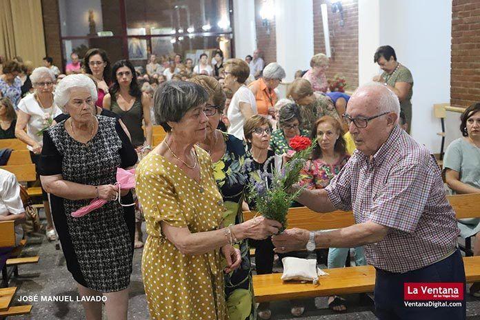 Ofrenda floral a la Virgen de Barbaño 2019