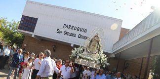 Procesión Virgen de Barbaño montijo