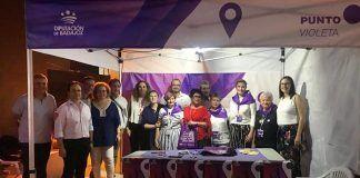Punto Violeta la Feria de Montijo