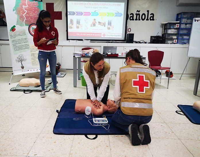 Curso de ERIE Psicosocial de Cruz Roja Montijo