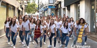 Flashmob Escuela Municipal de Danza de Montijo en ComerciArte 2019